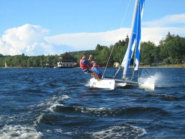 Catamaran sport activital lac des settons