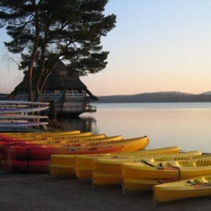 canoë activital lac des settons